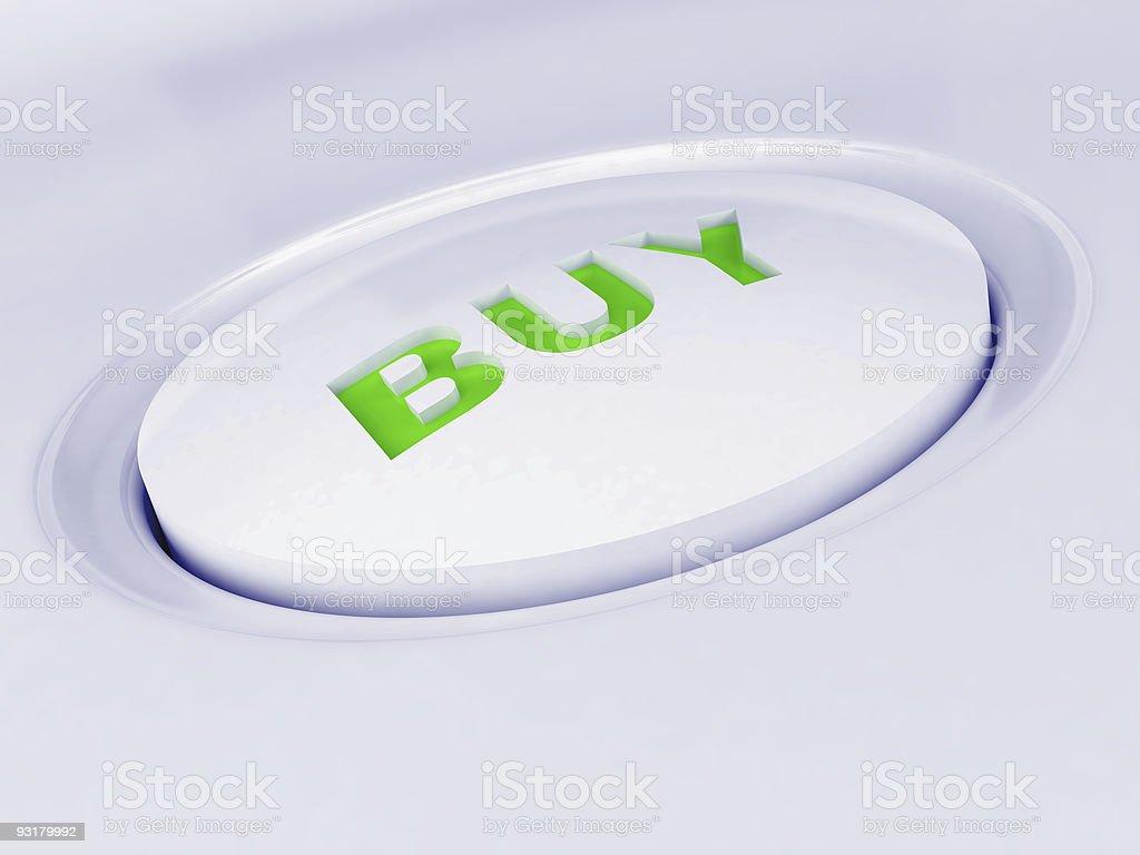 white plastic button royalty-free stock photo