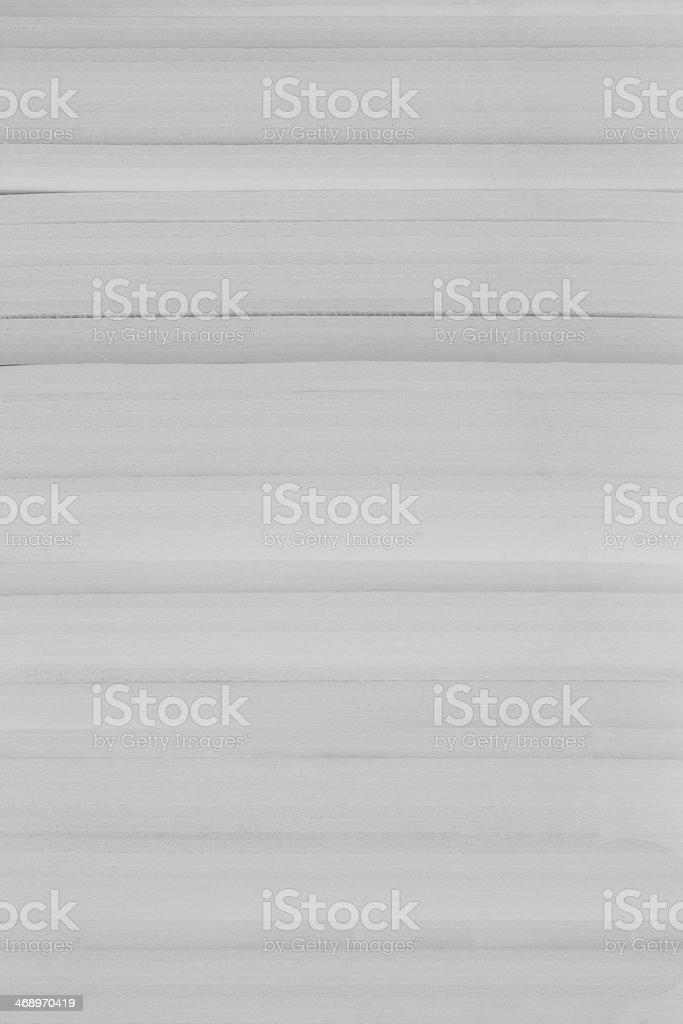 white plastic foam rubber stock photo