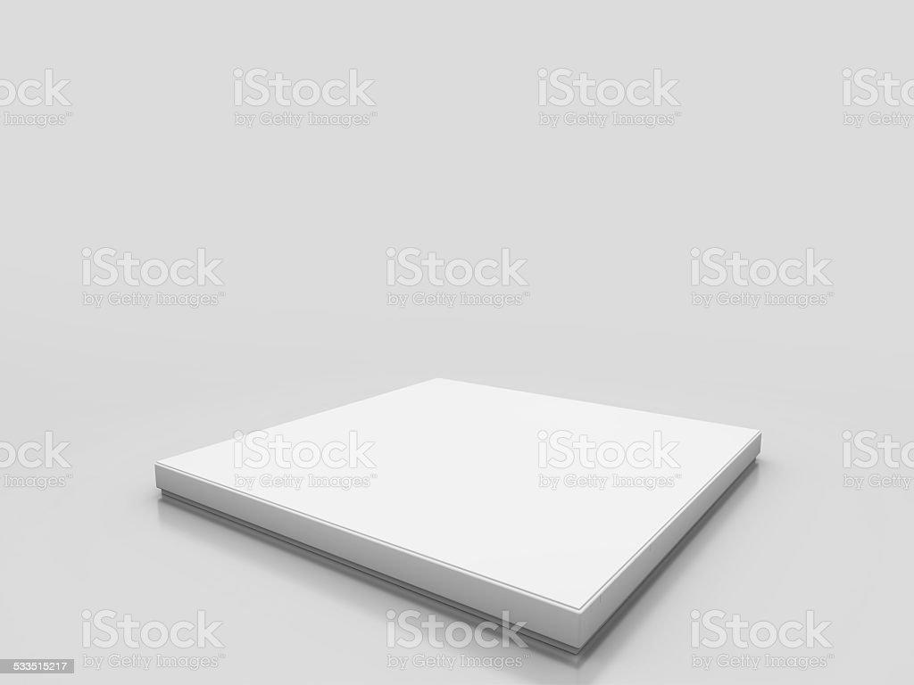 white platform stock photo