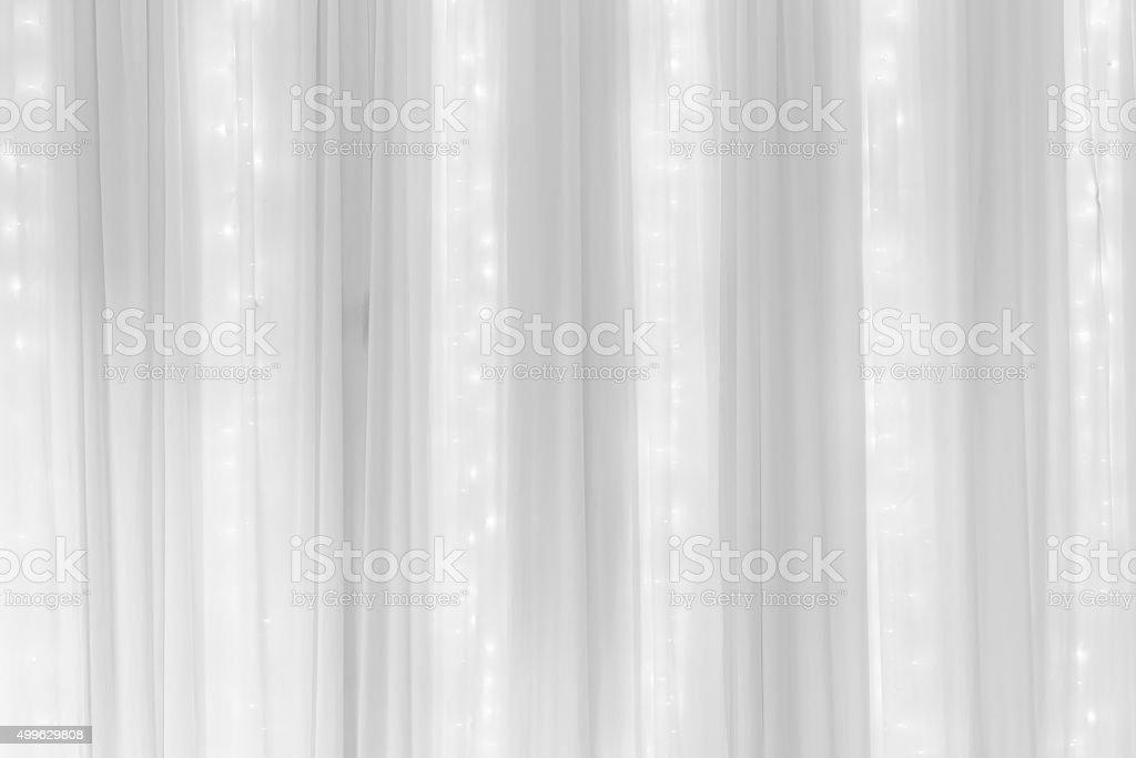 white pleat fabric background stock photo