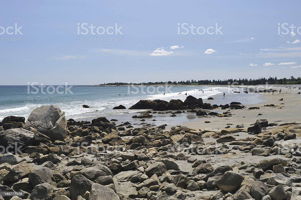 White Point Beach stock photo