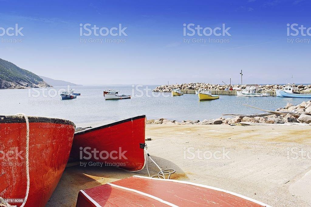White Point Marina royalty-free stock photo
