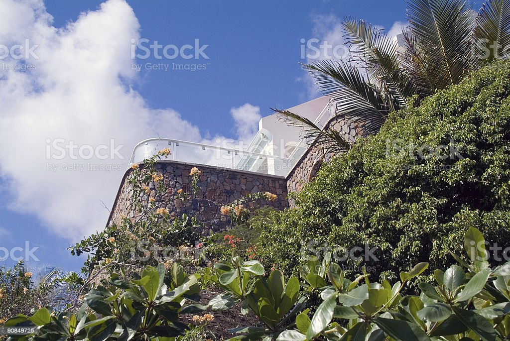 Point Blanche stock photo