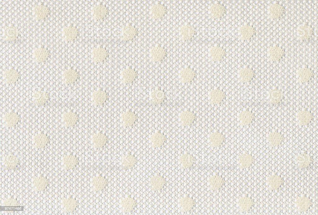 White Polka Dot Gauze royalty-free stock photo