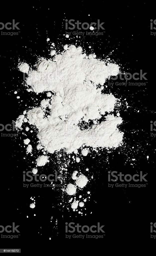 white powder stock photo