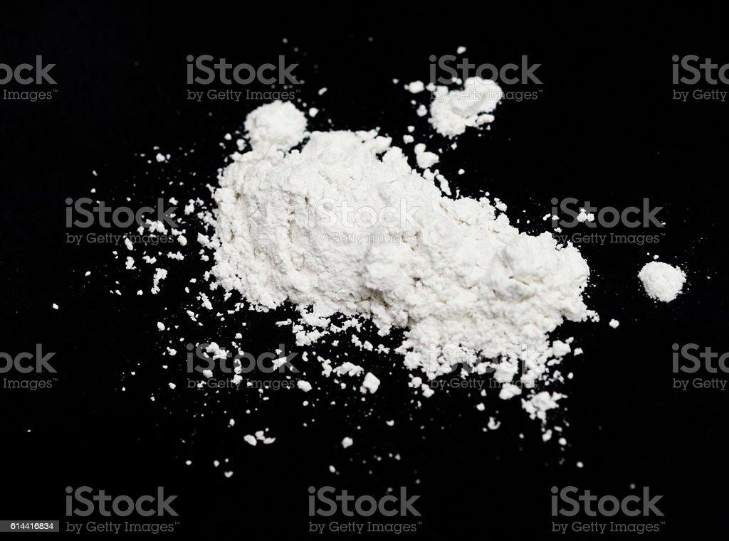 white powder stock photo