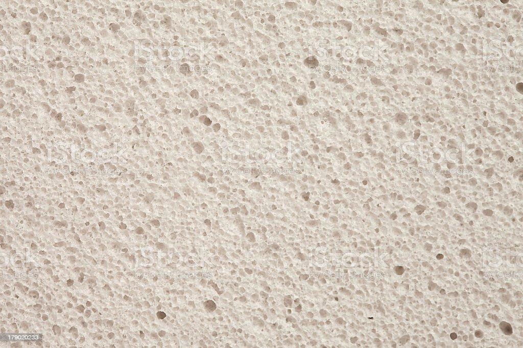 White pumice - closeup, background royalty-free stock photo