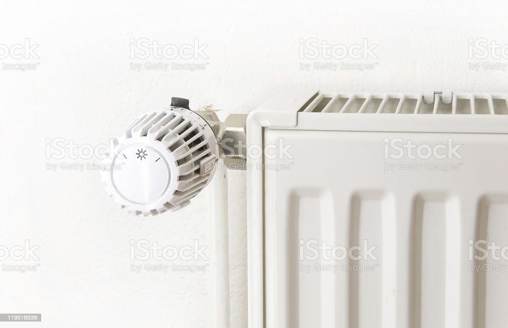 white radiator stock photo