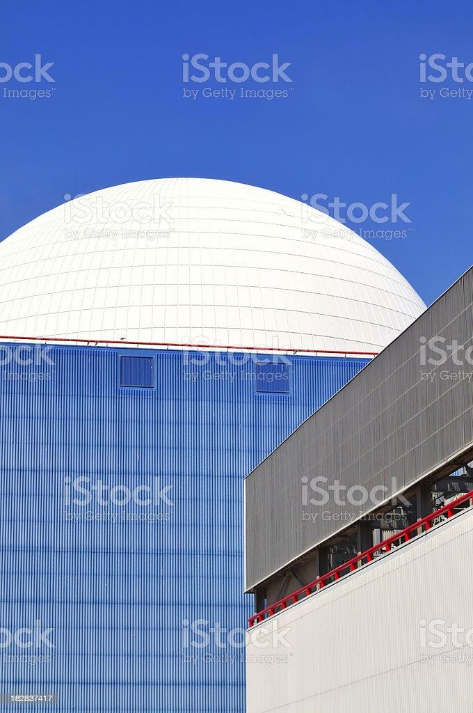White reactor. stock photo