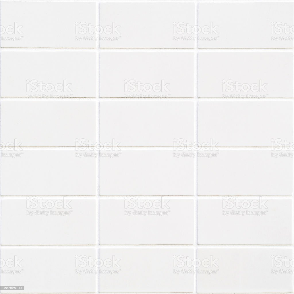 white rectangle mosaic with horizontal structure stock photo