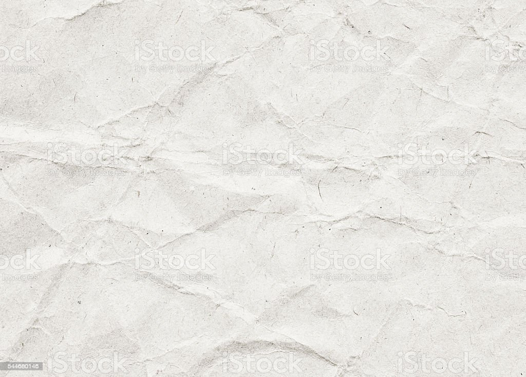 White recycled paper texture with copy space stock photo