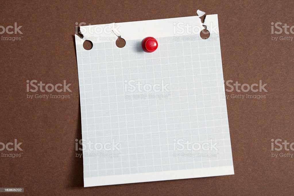 White reminder royalty-free stock photo