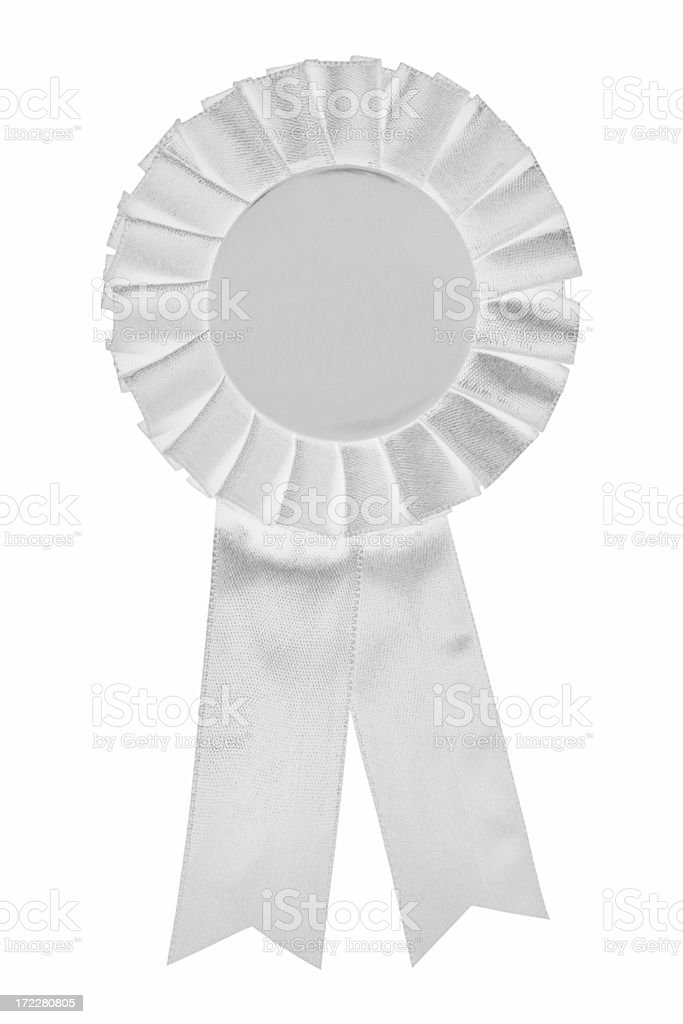 White Ribbon royalty-free stock photo