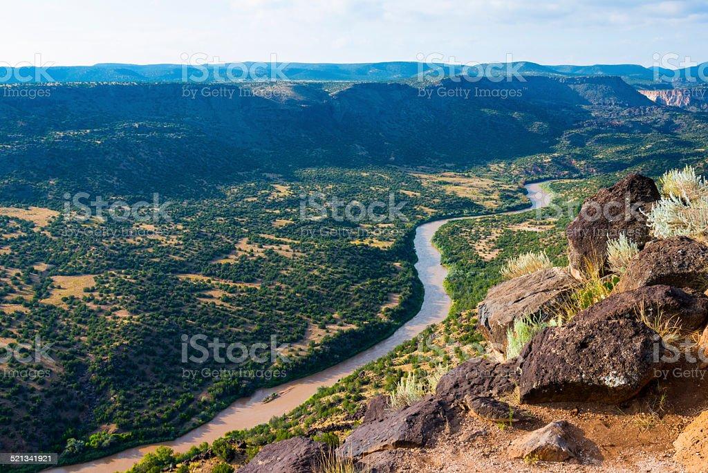 White Rock Overlook stock photo