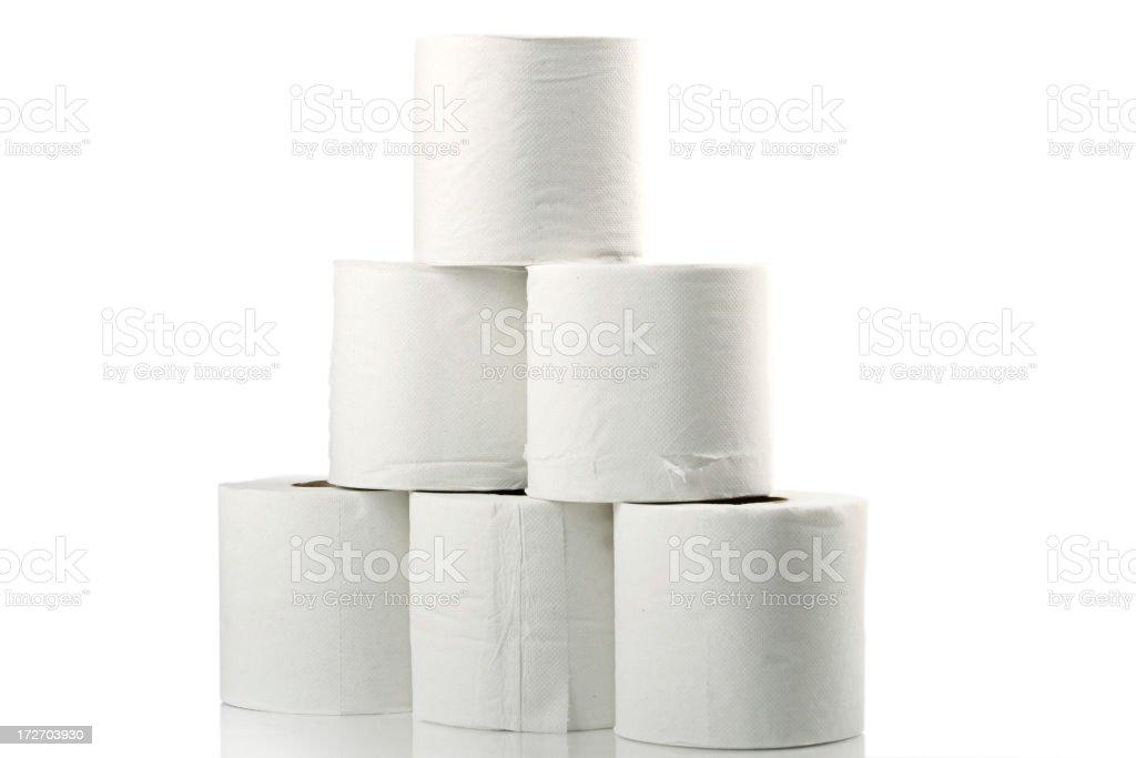 White rolls royalty-free stock photo