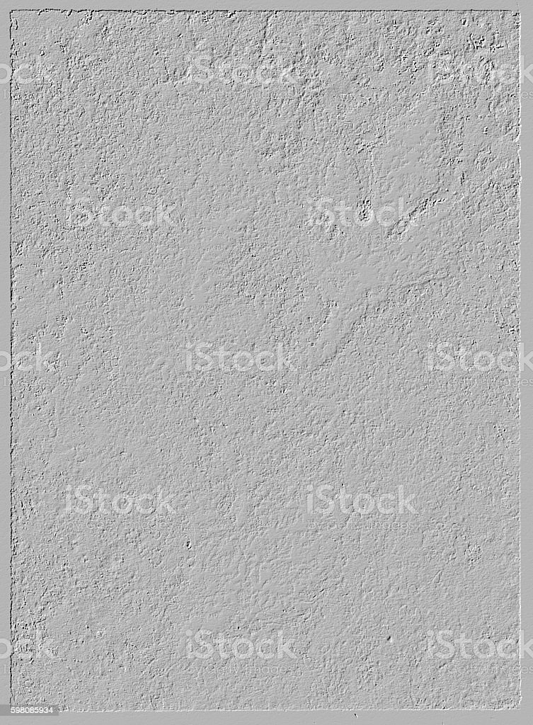 White rough abstract contrast texture gesso backgound stock photo