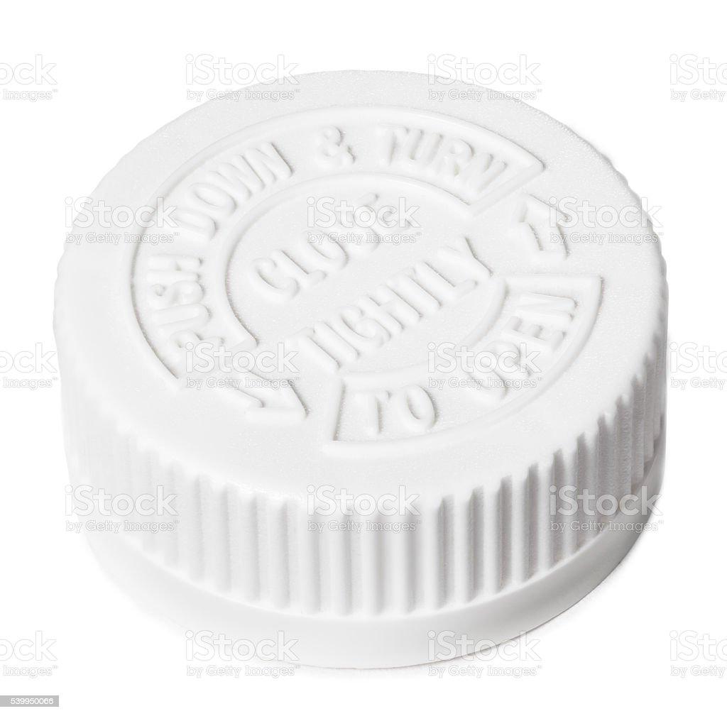 White safety cap stock photo