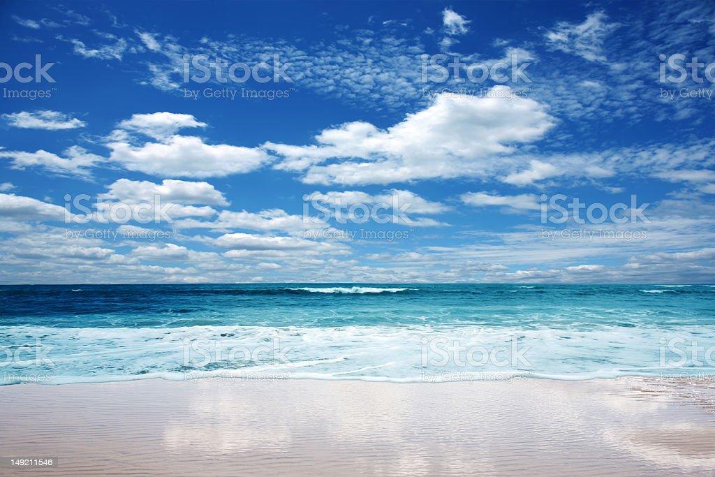 Wunderschöne Strand Lizenzfreies stock-foto
