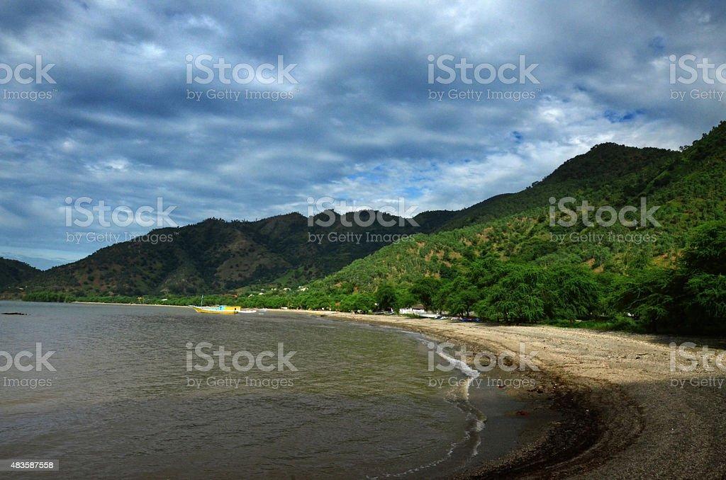 Areia branca stock photo