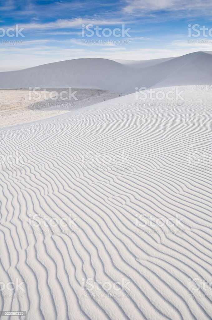 White Sands National Monument, New Mexico (USA) stock photo