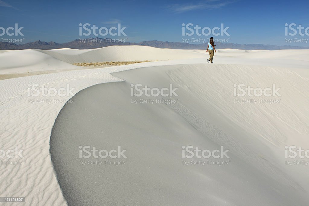 White Sands National Monument, NM stock photo