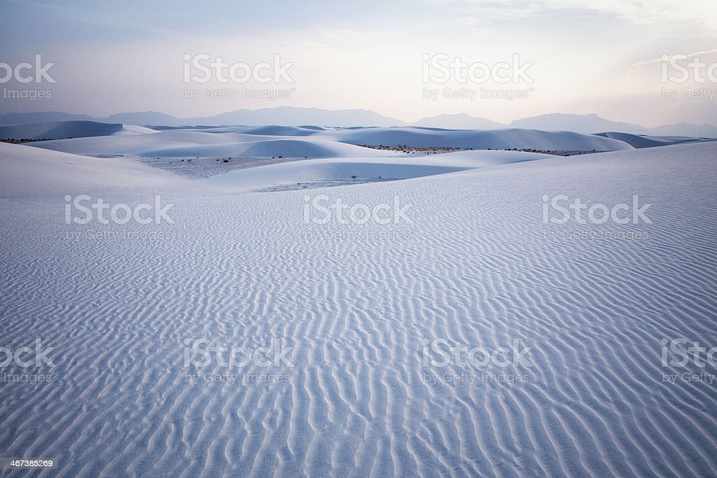 White Sands National Monument royalty-free stock photo