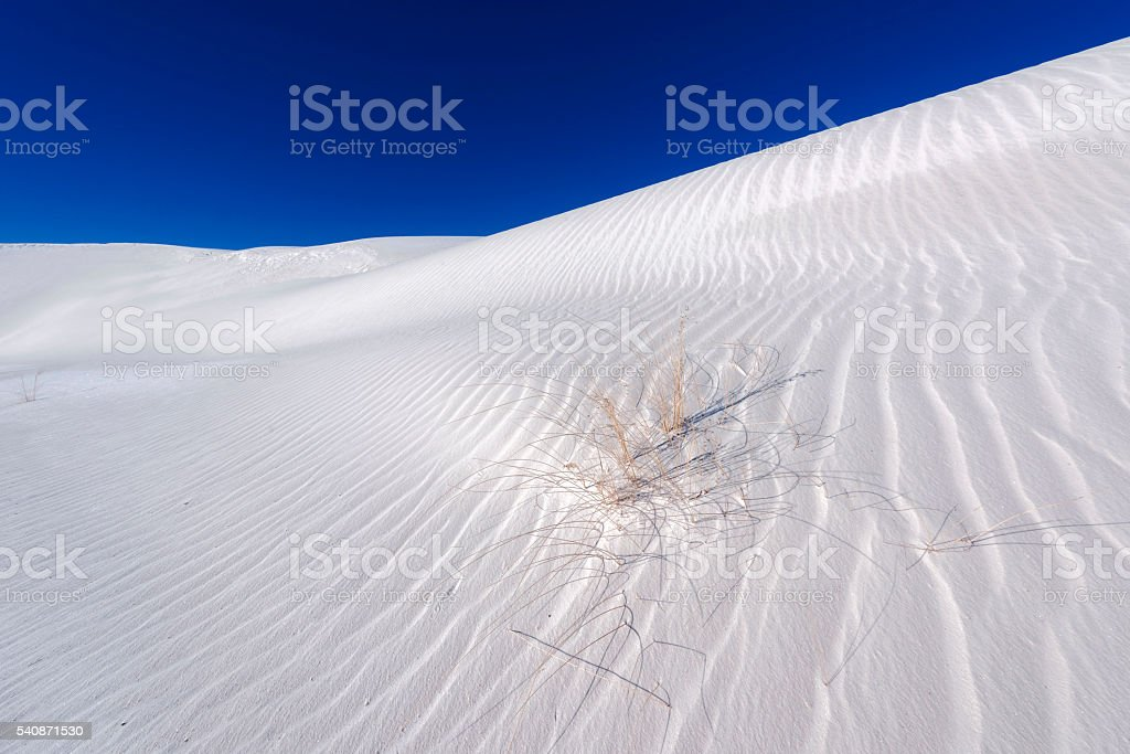 White Sands National Monument stock photo