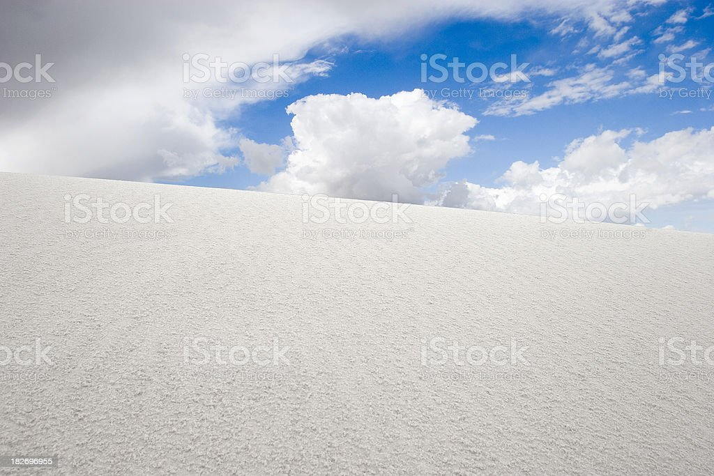 White Sands New Mexico royalty-free stock photo