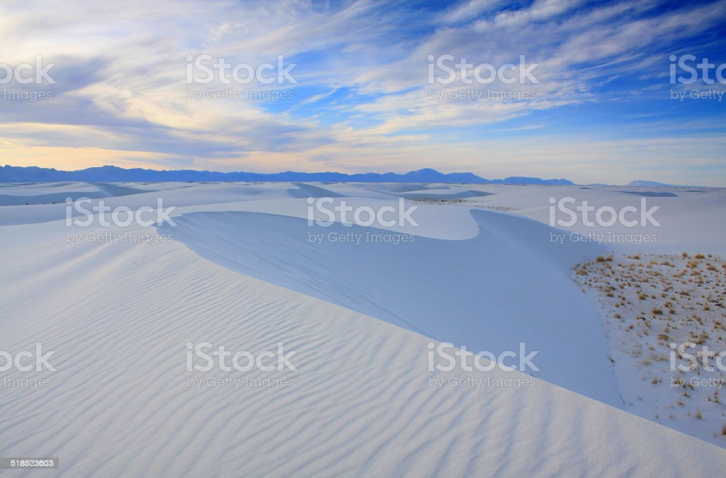 White Sands NM stock photo