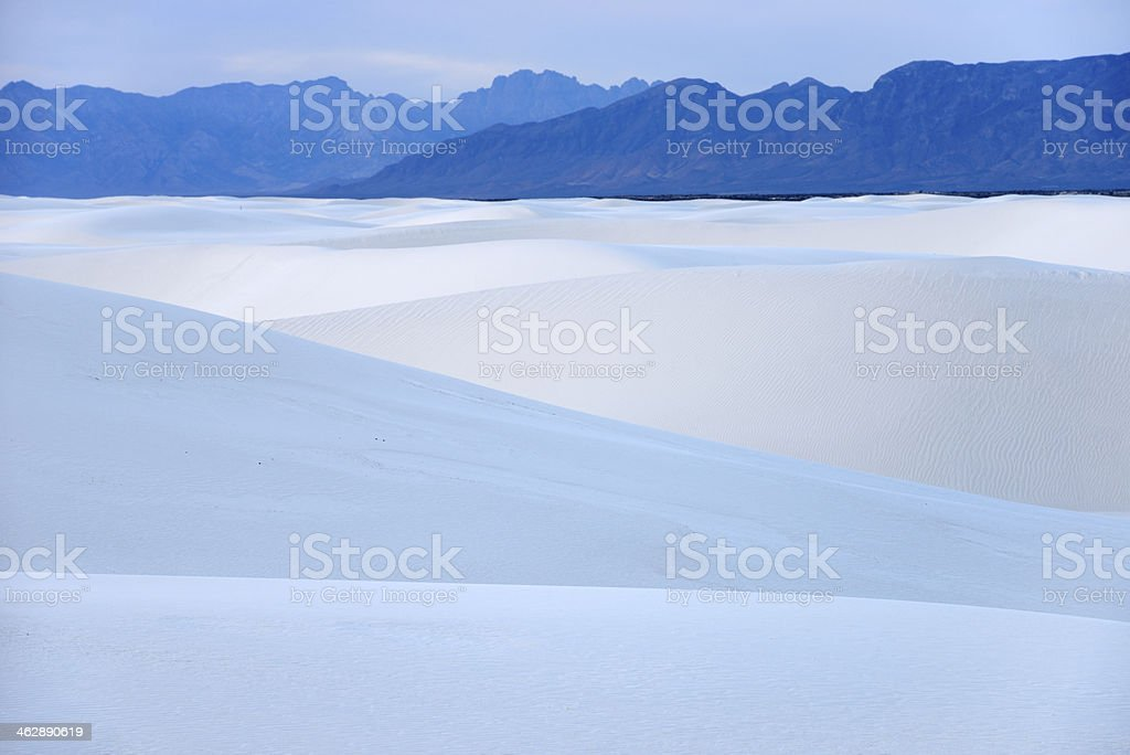 White Sands of New Mexico stock photo