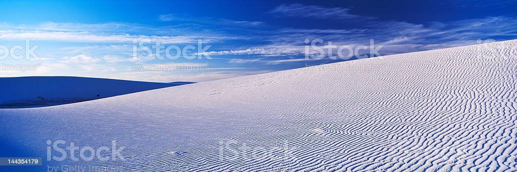 White Sands stock photo