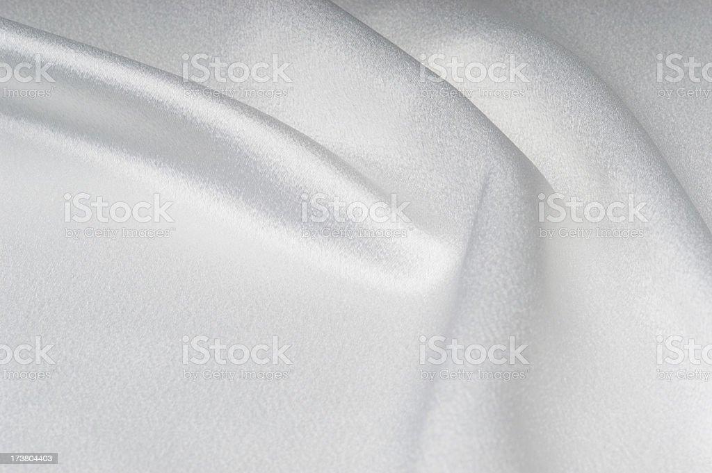 White Satin 1 royalty-free stock photo