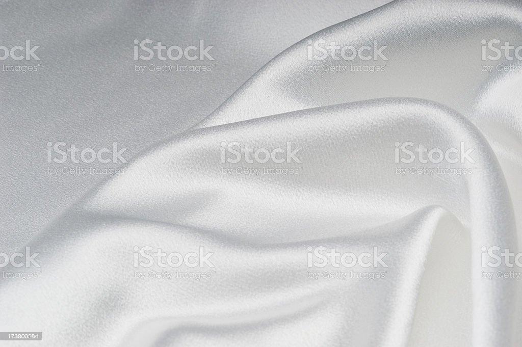 White Satin 4 royalty-free stock photo