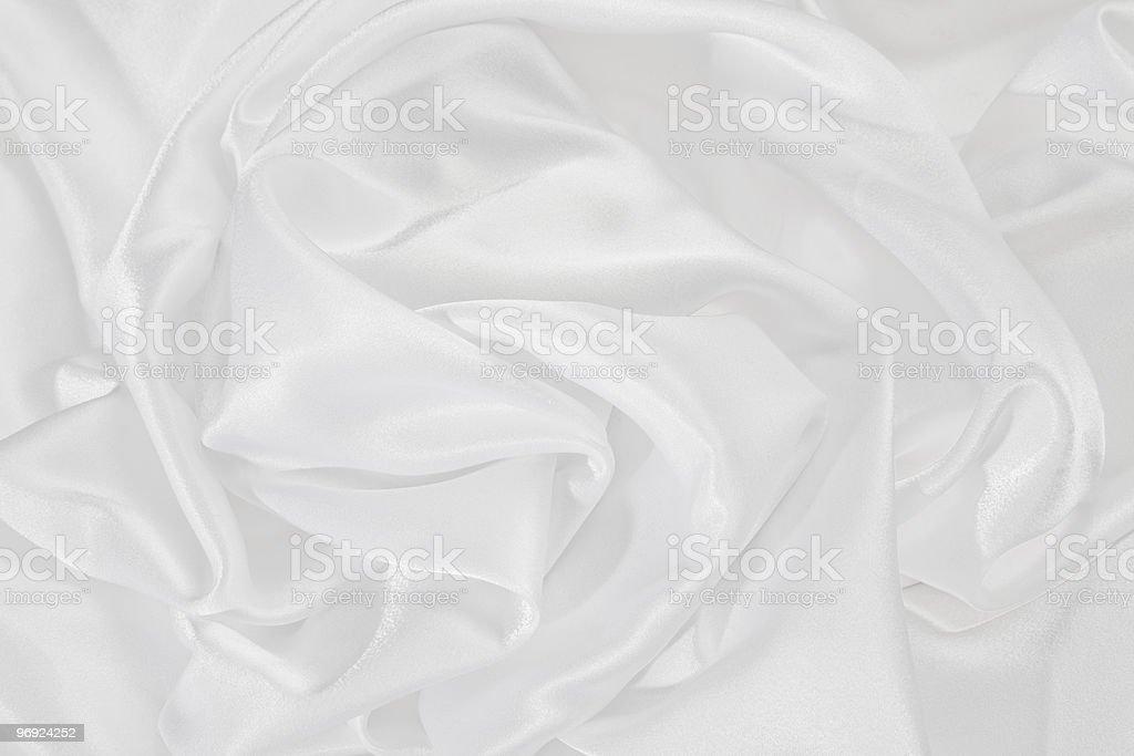 Fond de satin blanc photo libre de droits