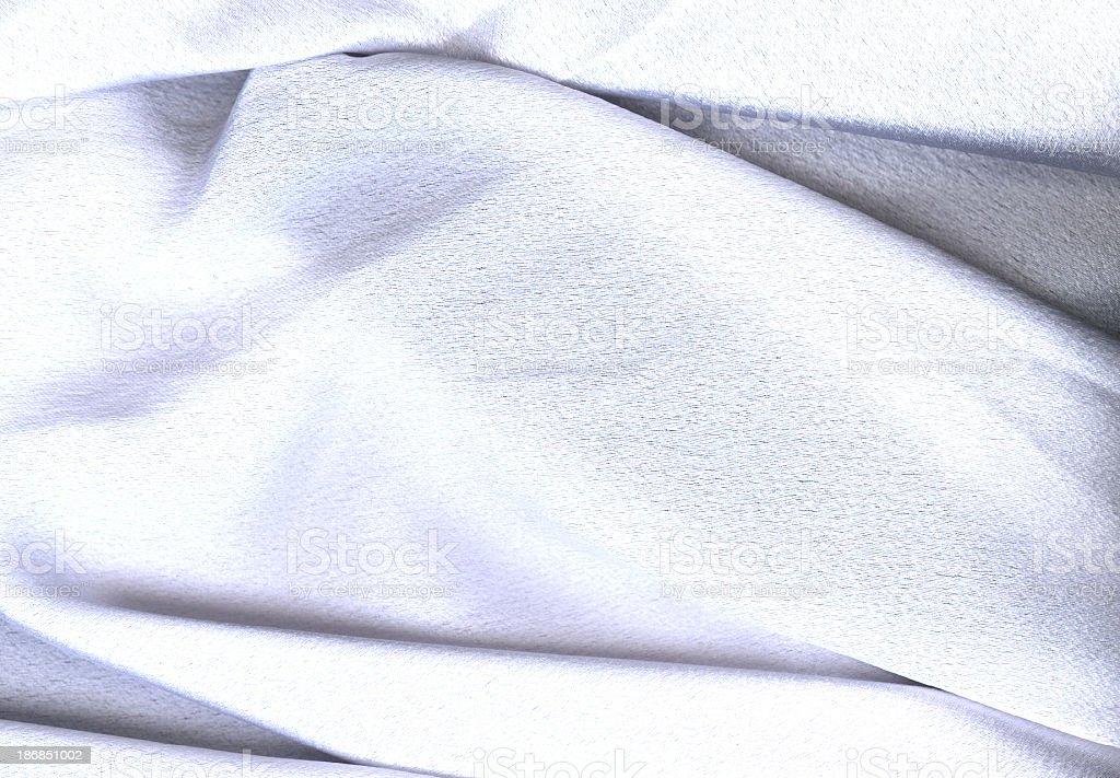 White Satin Sheet royalty-free stock photo