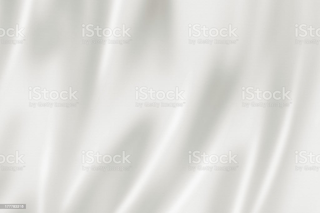 White satin texture stock photo