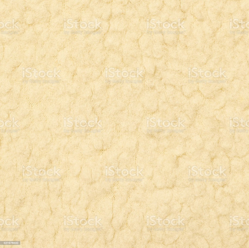 White shaggy cloth texture fragment stock photo
