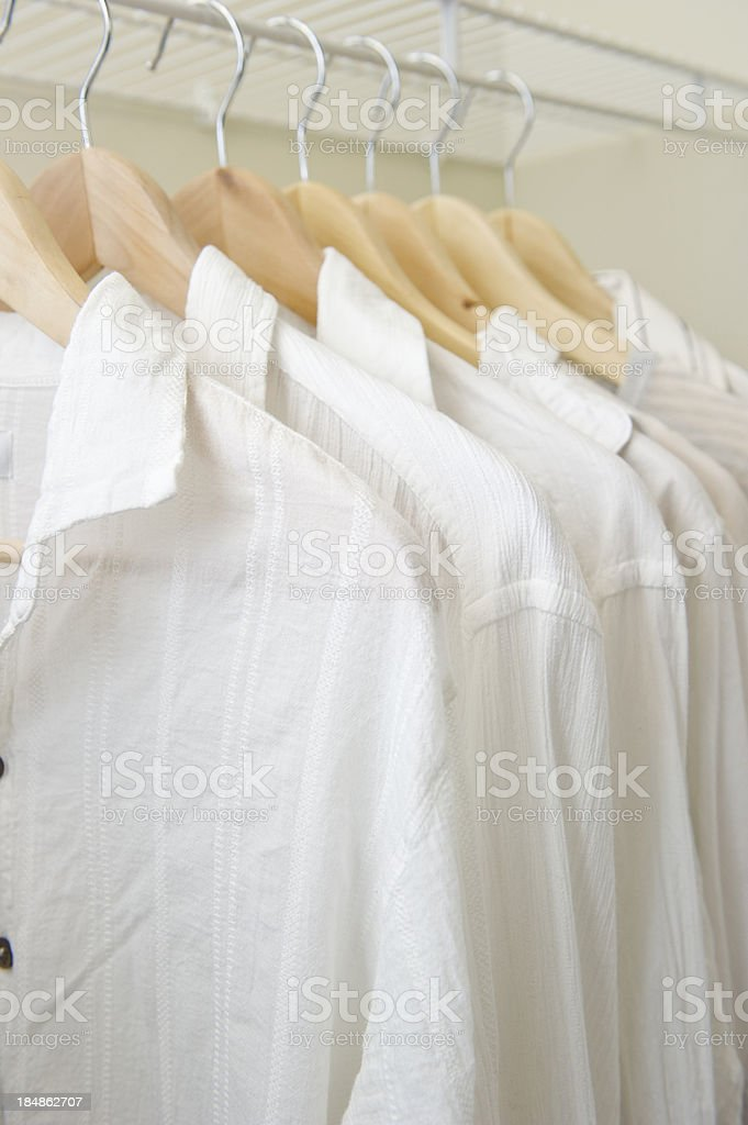 White Shirts royalty-free stock photo
