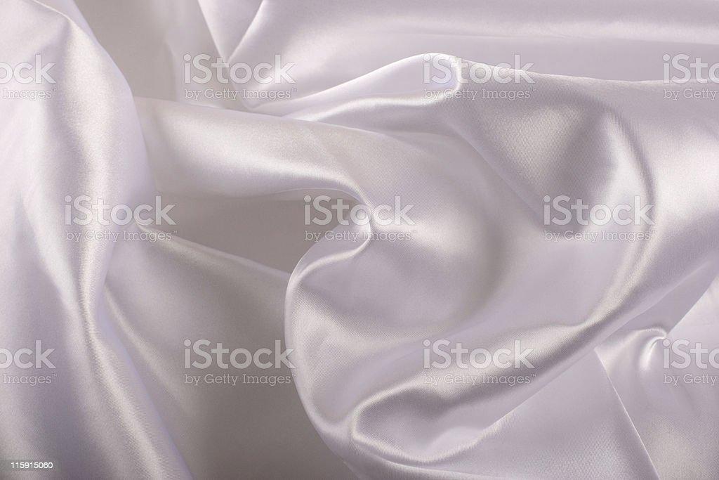 white silk fabric royalty-free stock photo