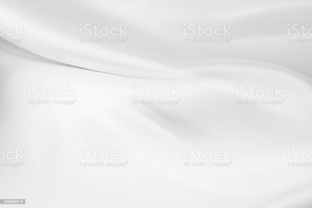 White silk stock photo