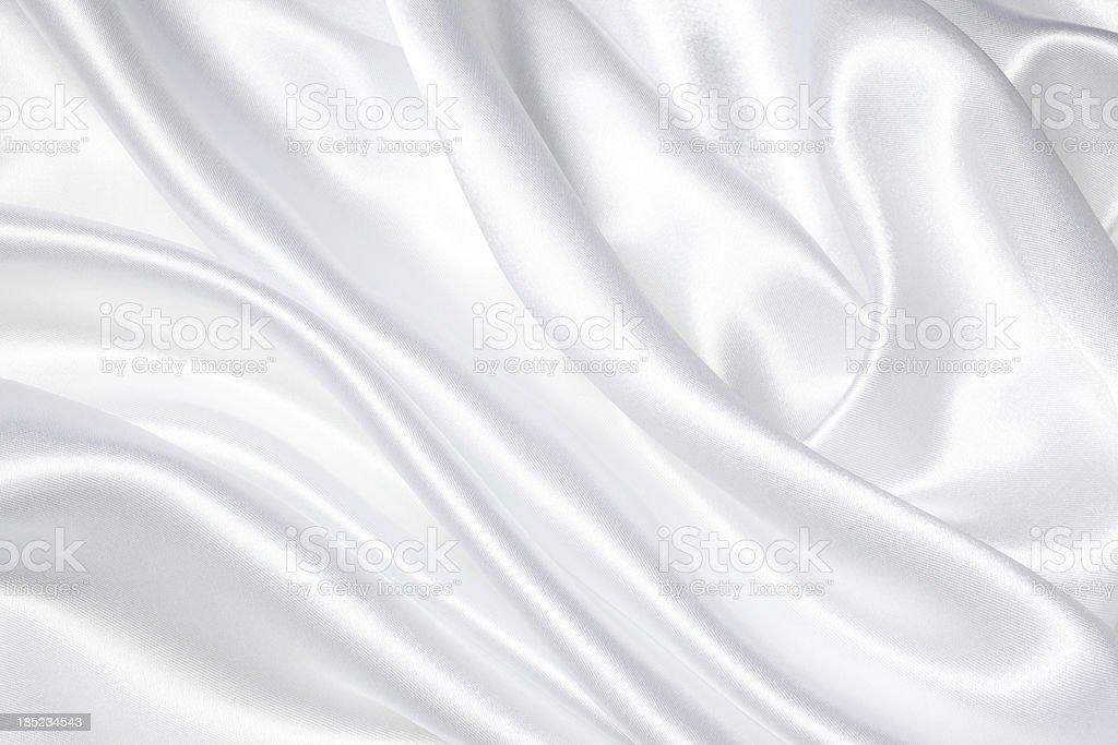 White Silk Texture stock photo