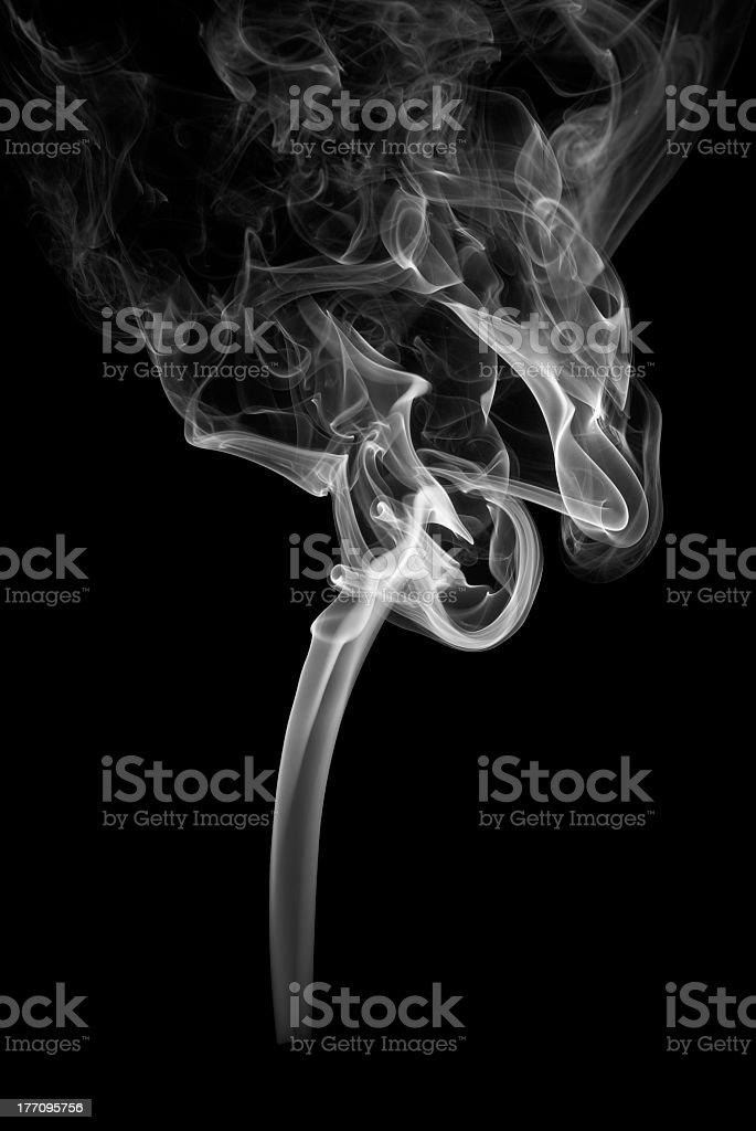 White Smoke royalty-free stock photo