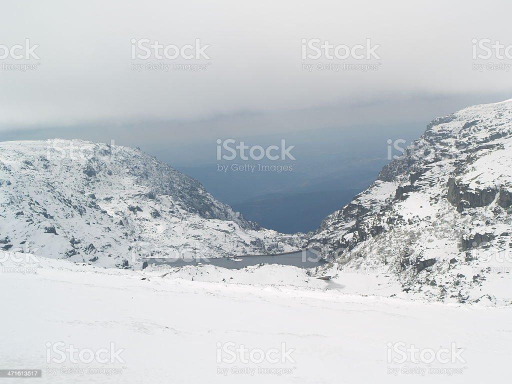 White snow royalty-free stock photo