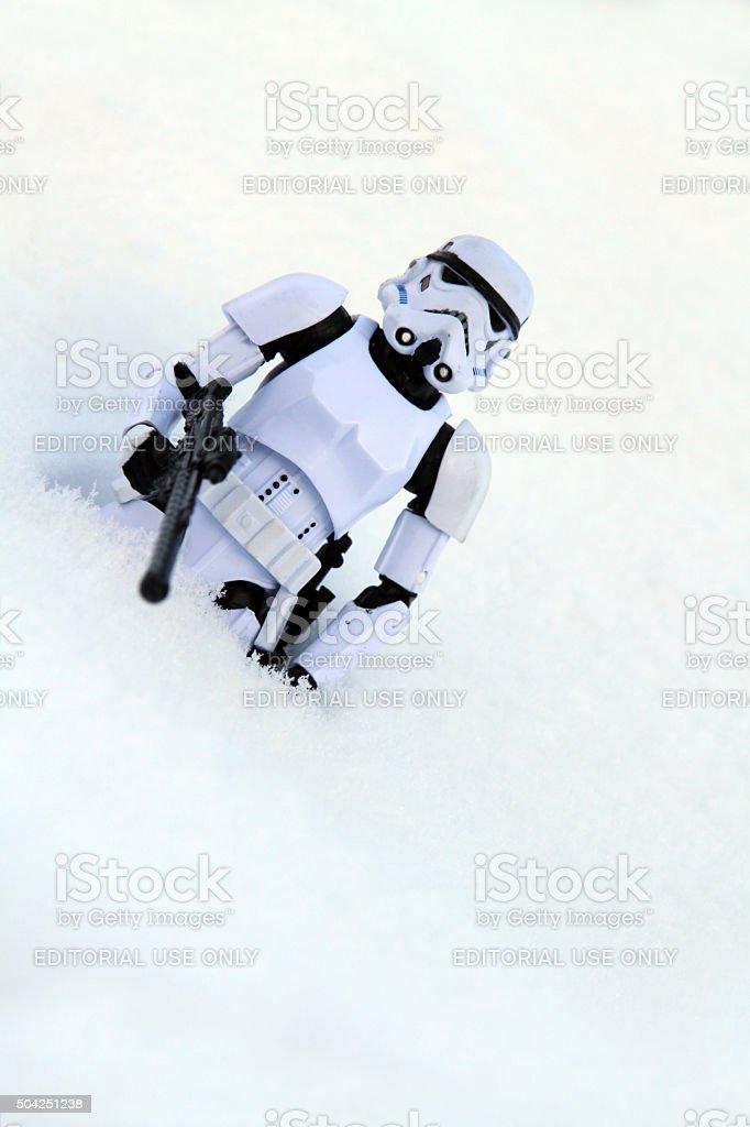 White Snow stock photo