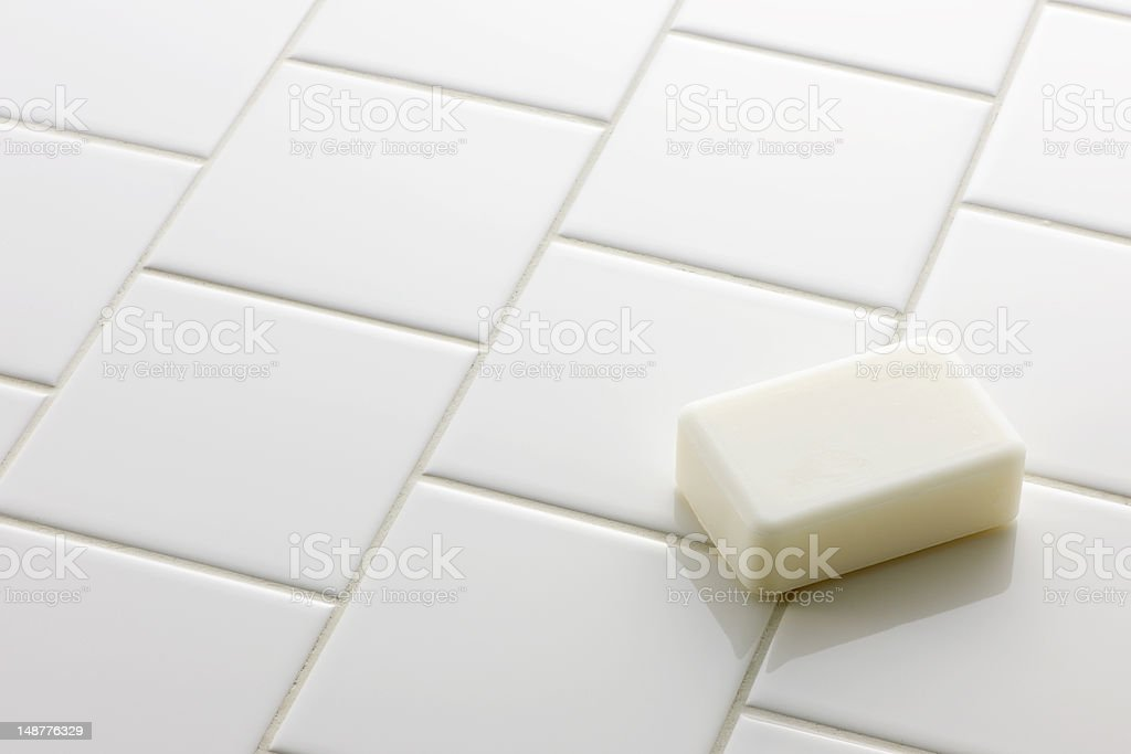 White soap royalty-free stock photo