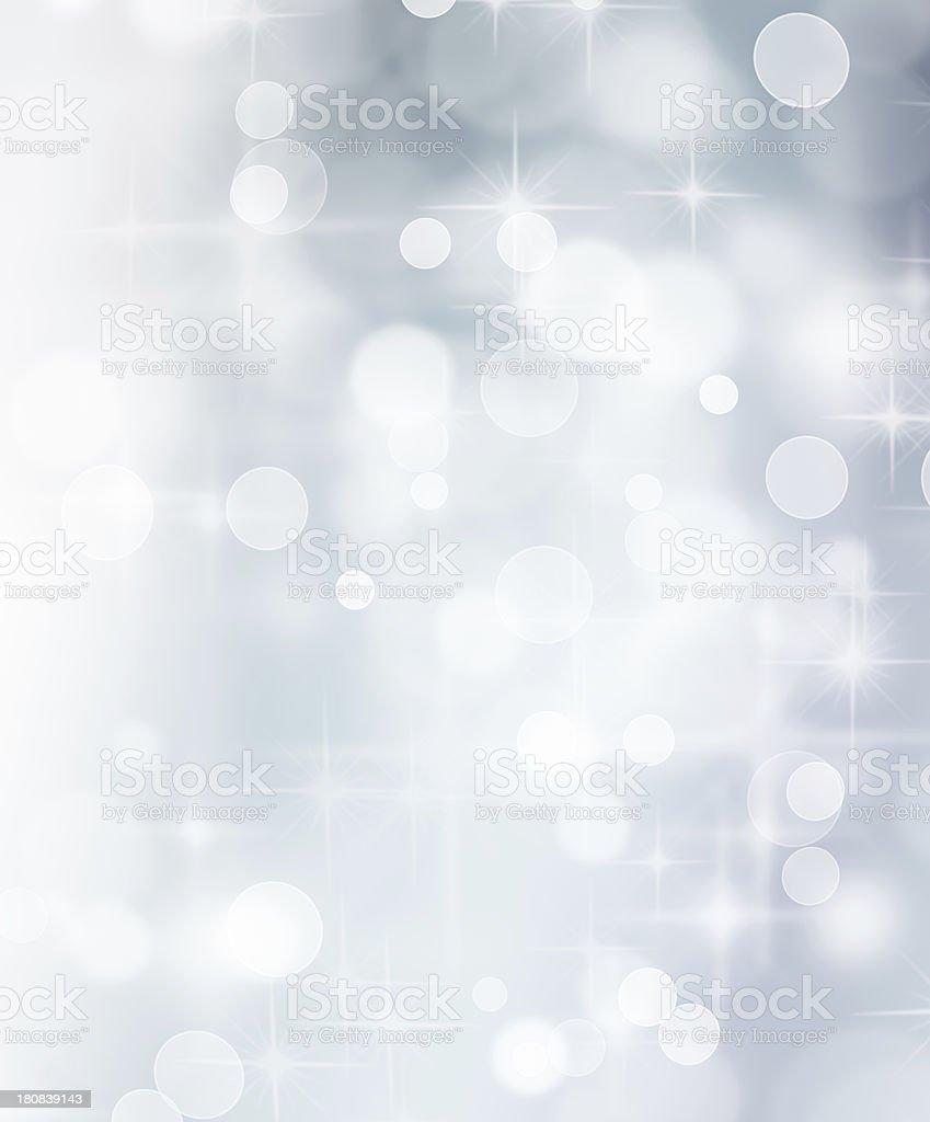 White Sparkles stock photo