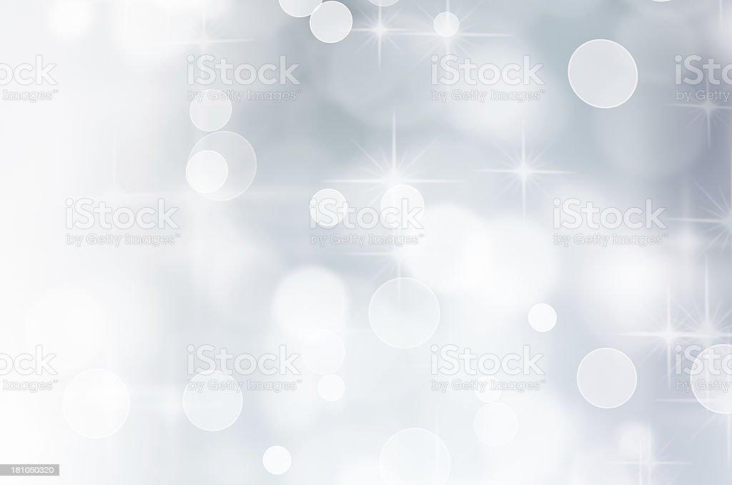 White Sparkles royalty-free stock photo