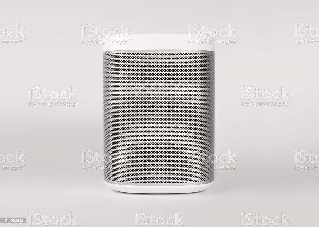 White Speaker stock photo