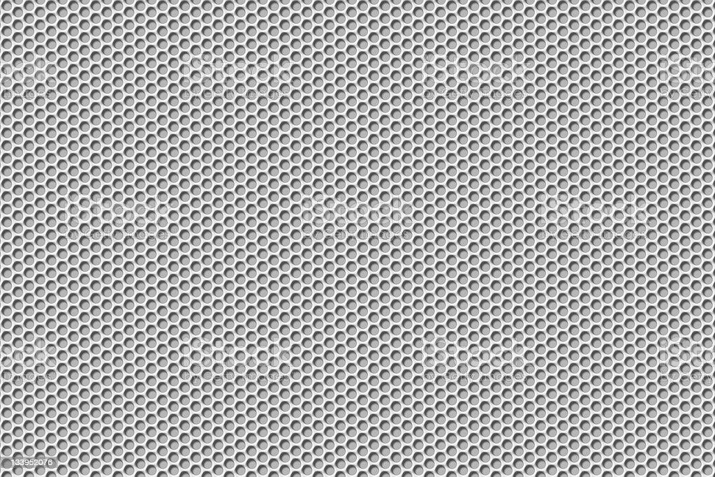 white speaker style grille XXXL with path stock photo