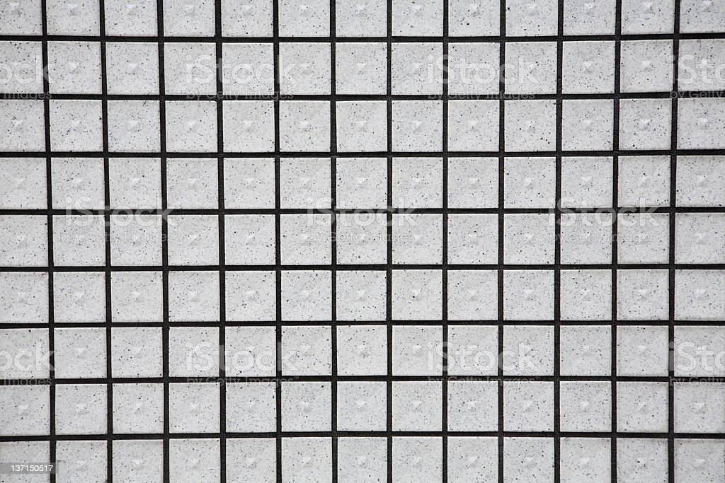 White square tile background for texture, pattern, backdrop. royalty-free stock photo